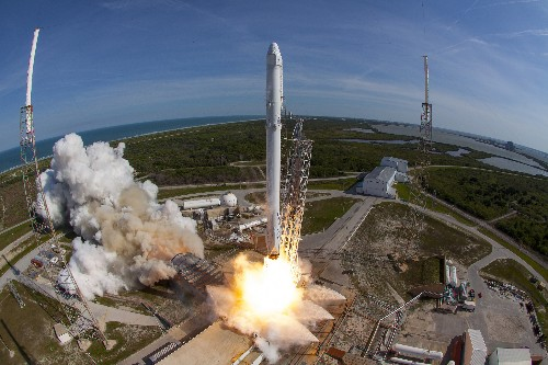 SpaceX just landed a rocket on a drone ship for the first time