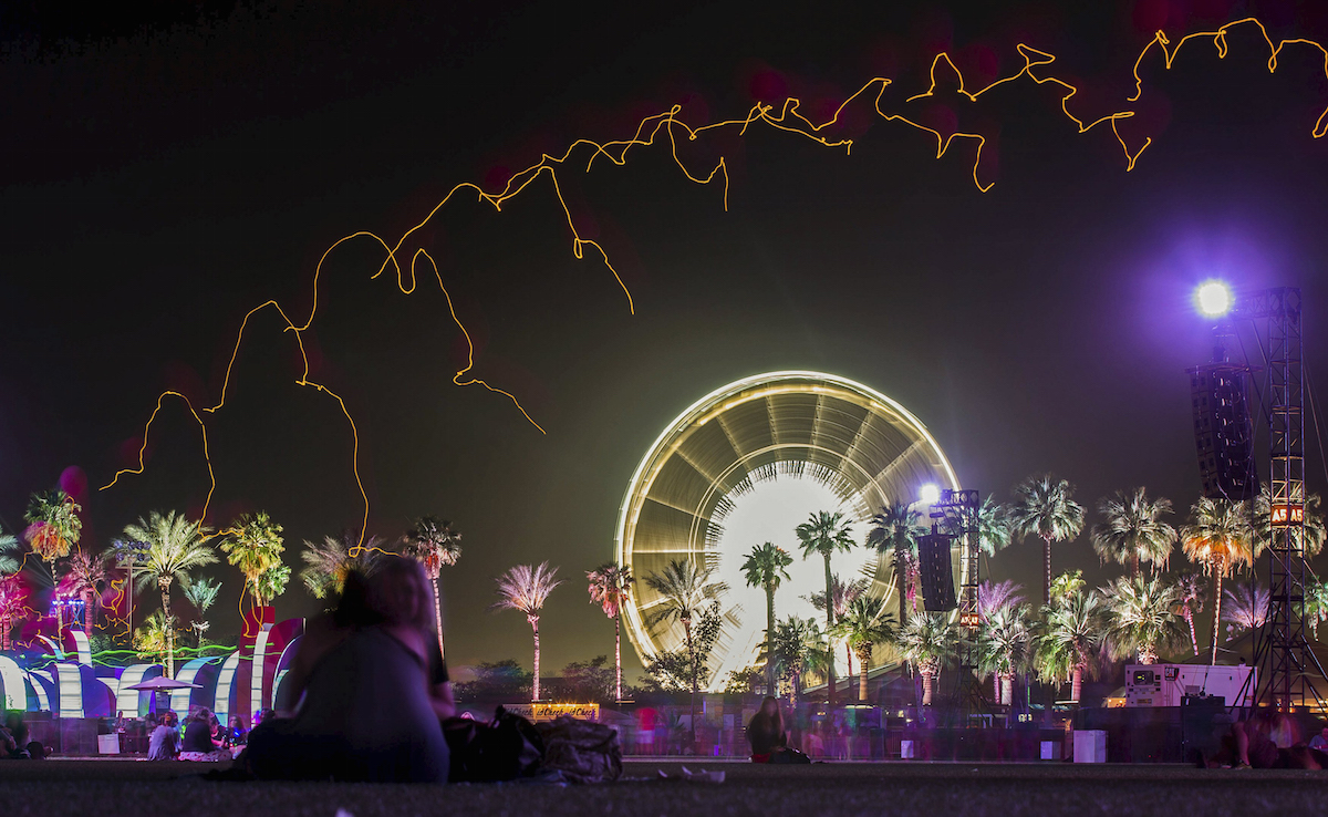 Coachella Valley Music and Arts Festival in Indio, California, April 10, 2015. REUTERS/Lucy Nicholson