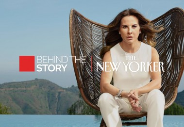 El Chapo Kate del Castillo The New Yorker Behind the Story