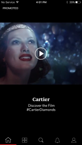 Cartier-Flipboard Cinema Loop