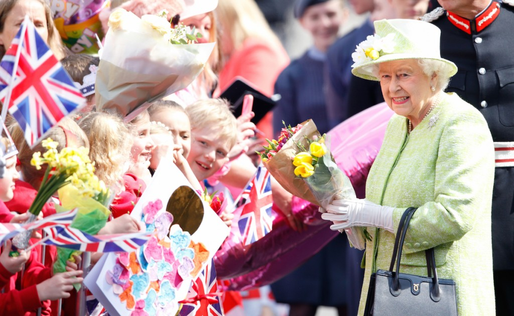 Queen Elizabeth II meets the public during her 90th Birthday Walkabout on April 21, 2016 in Windsor, England. (Photo by Max Mumby/Indigo/Getty Images)