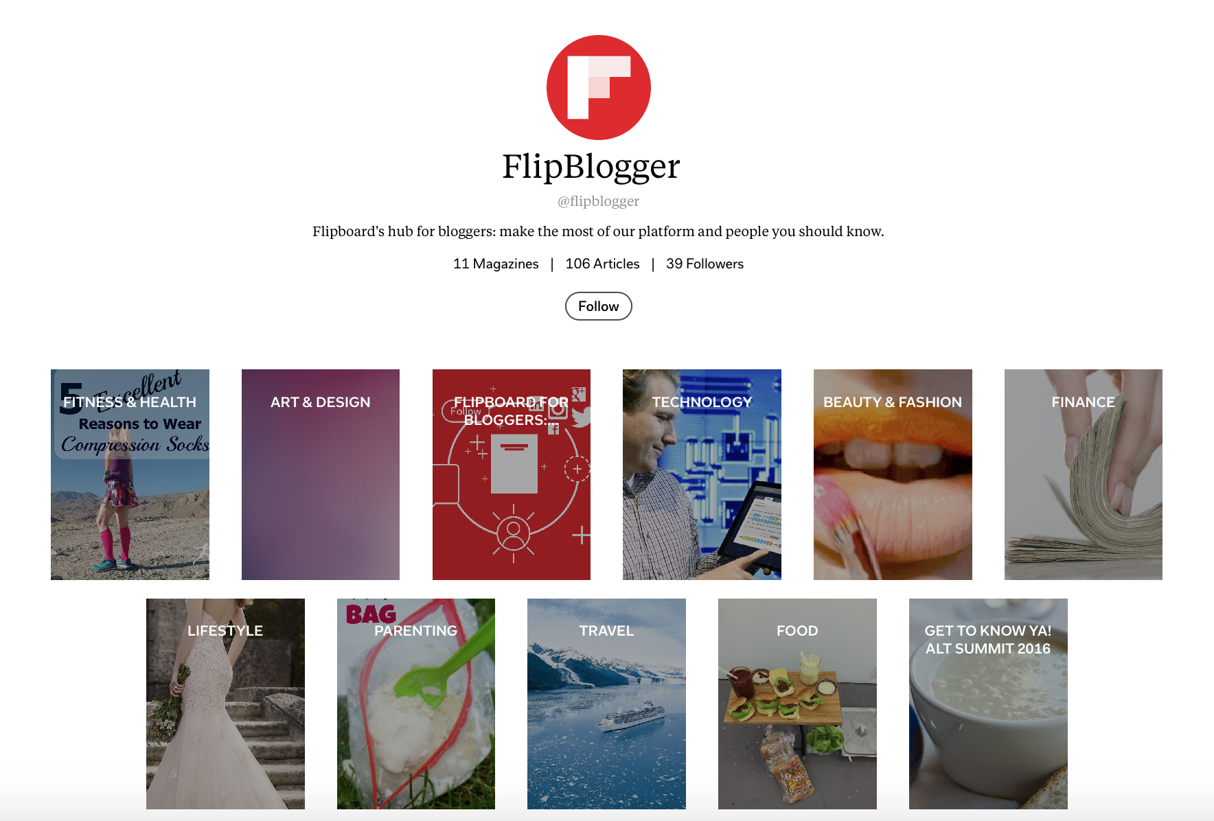 FlipBlogger_Screenshot