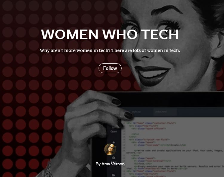 Women Who Tech Magazine Desciption