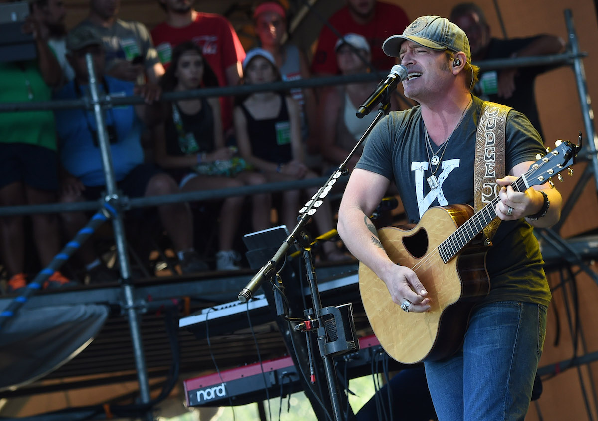 Singer/Songwriter Jerrod Niemann performs during Kicker Country Stampede on June 26, 2015 at Tuttle Creek State Park in Manhattan, Kansas. Rick Diamond/Getty Images for Kicker Country Stampede