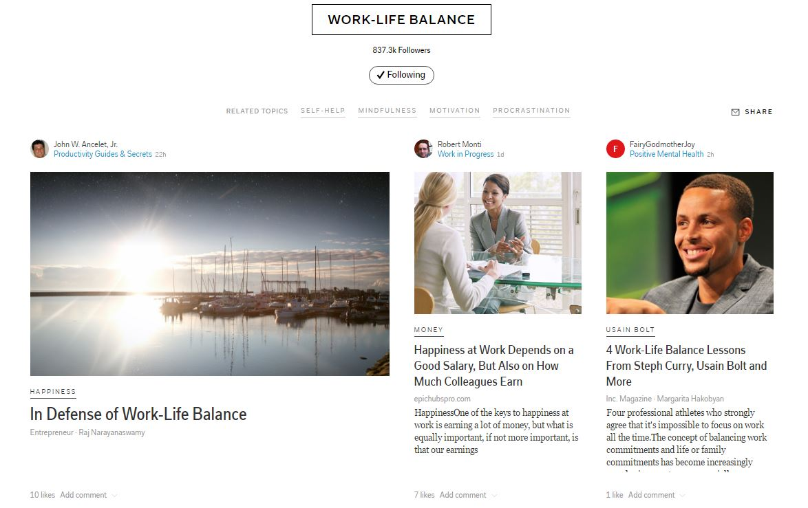 work-life-balance-flipboard-topic