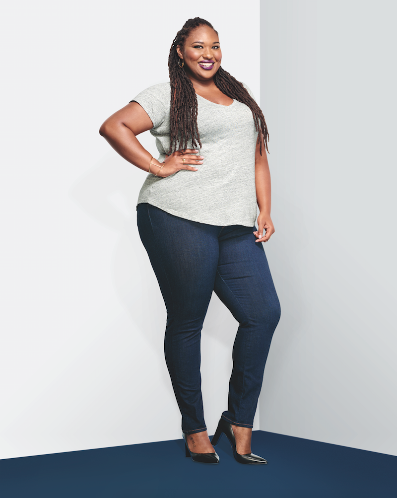 "A Thick Girls Closet/Shainna Tucker. ""I love a stretchy skinny jean, but most start to sag 10 minutes after putting them on! These hug all the right places and keep their shape,"" Tucker said."