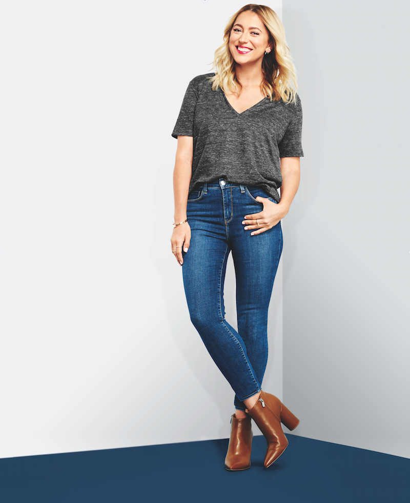 "My Style Pill/Christine Cameron. ""I have curvier calves, so finding skinny jeans...has proven to be a challenge. These have a ton of stretch, so they fit everywhere perfectly,"" Cameron said."