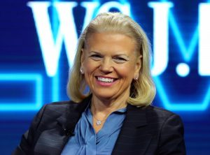 Ginni Rometty chairman and president and CEO of IBM speaks at the WSJD Live conference in Laguna Beach, California, U.S., October 26, 2016.     REUTERS/Mike Blake