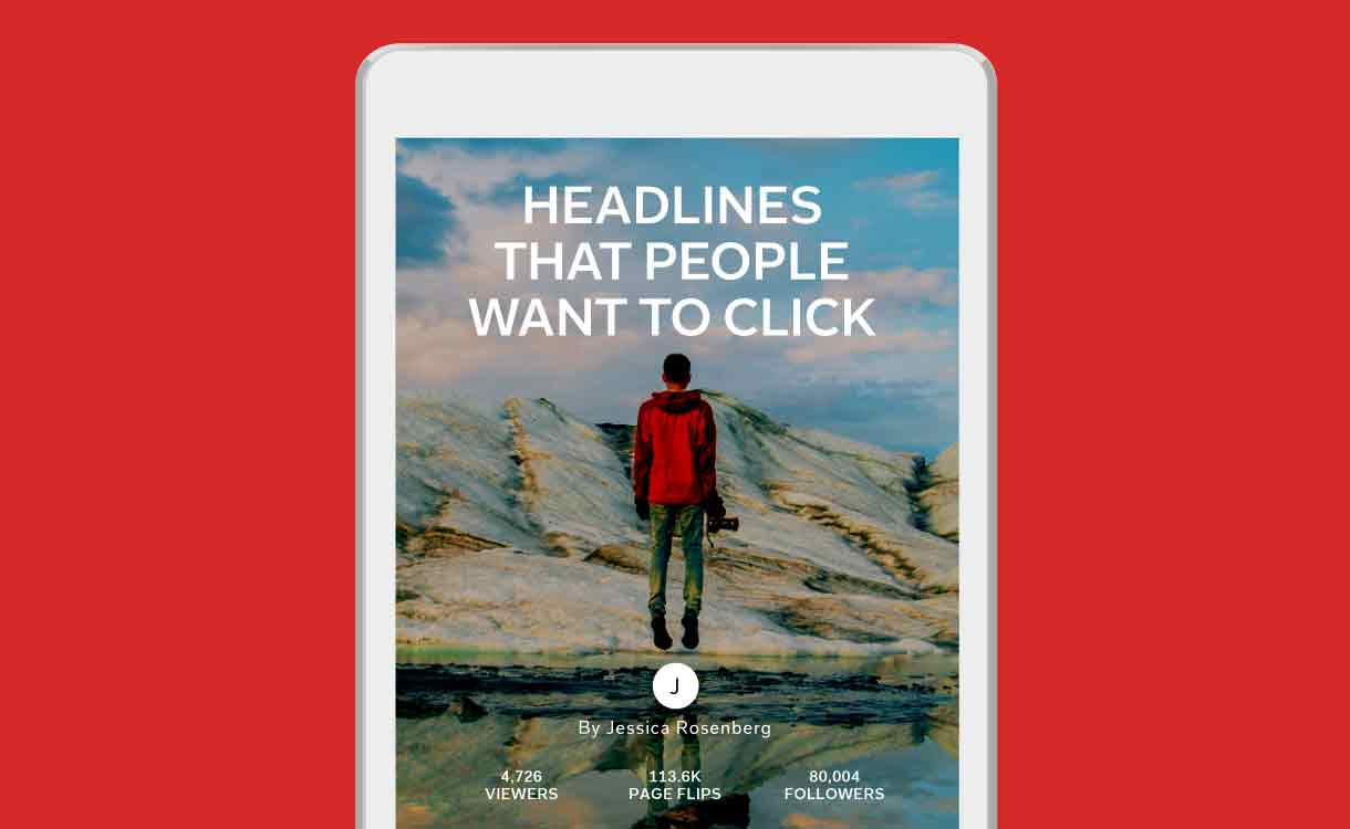 Flipboard Headlines people want to click