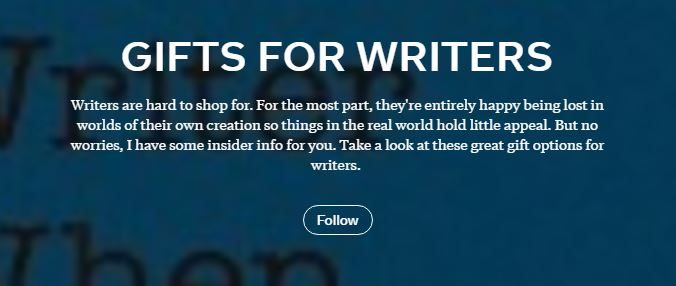 Gifts for writers on Flipboard