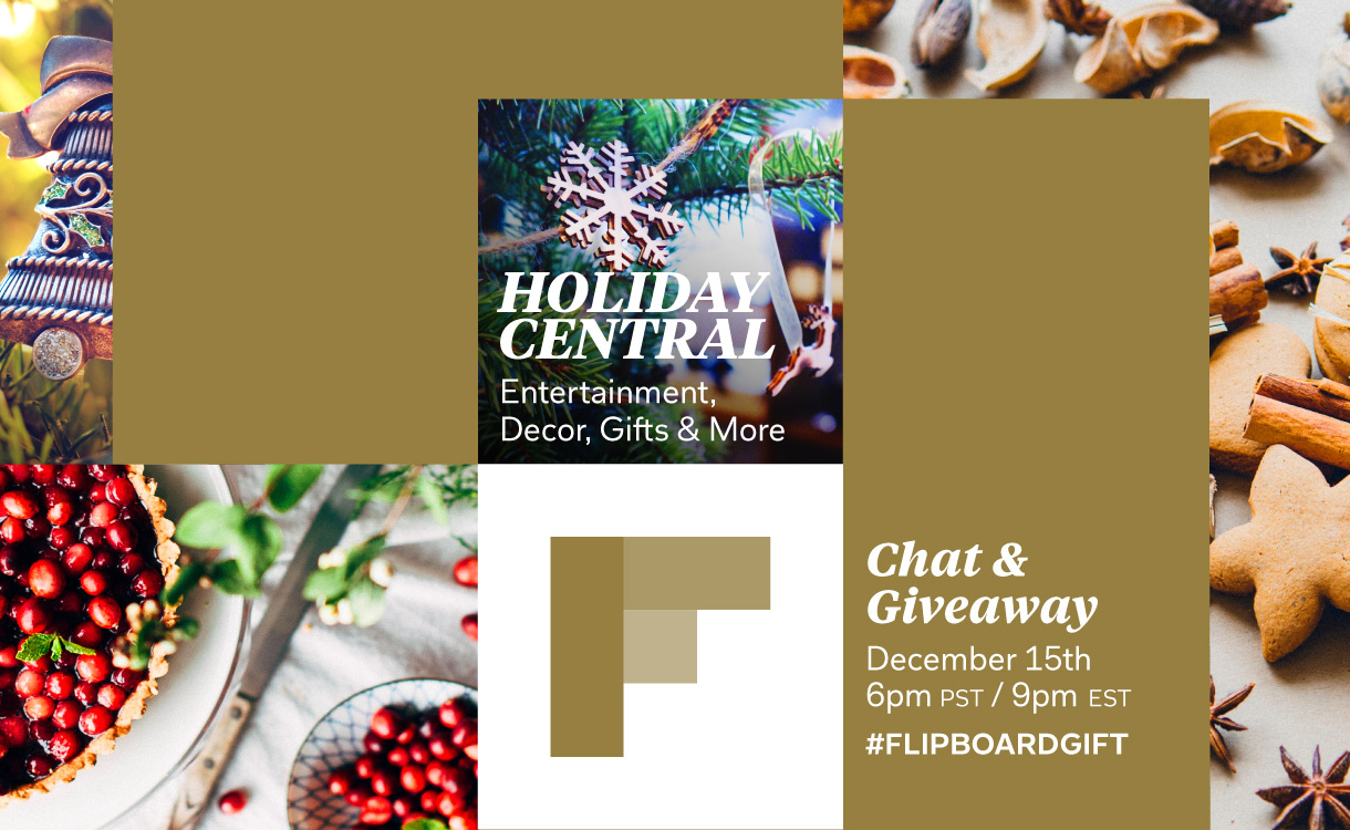 Flipboard Holiday Central #FlipboardGift Twitter Chat