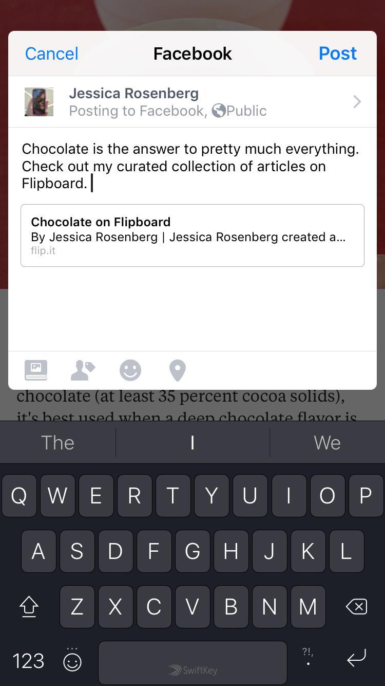 Social-sharing Flipboard Magazines