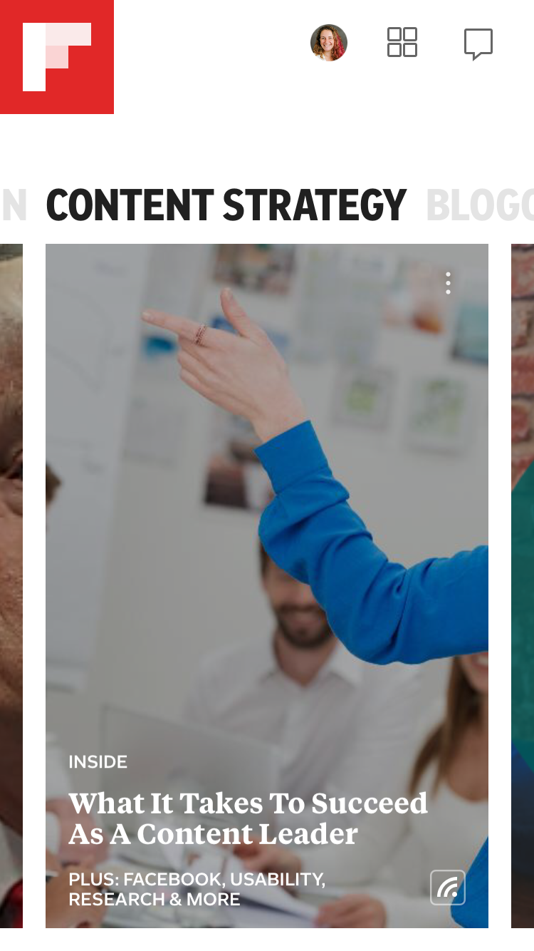 Content Strategy Custom Smart Flipboard Magazine