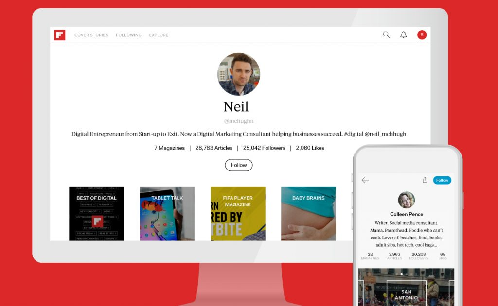3 steps to a strong Flipboard profile