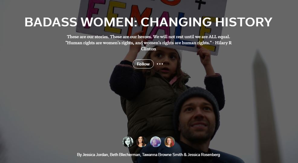 Badass-Women Collaborative Flipboard Magazine
