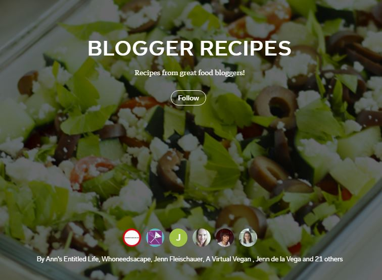 Blogger-Recipes Collaborative Flipboard Magazine