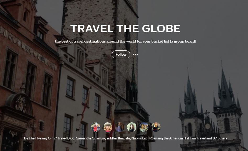 Travel-the-Globe Collaborative Flipboard Magazine