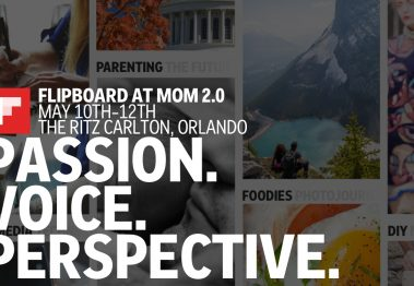 Flipboard at Mom 2.0 Summit