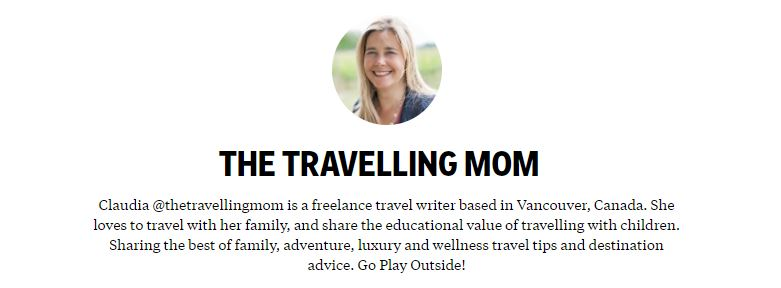 The-Traveling-Mom-Claudia-Laroye on Flipboard