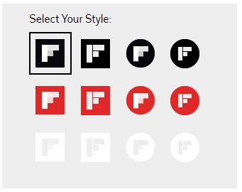 Follow Button on Flipboard