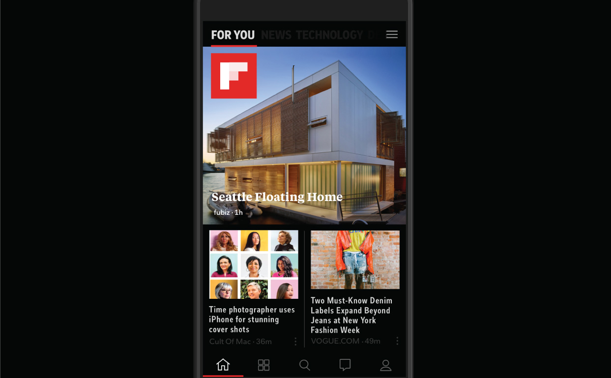 Popular requests for darker background colors and larger font sizes now available in Flipboard iOS11 update.