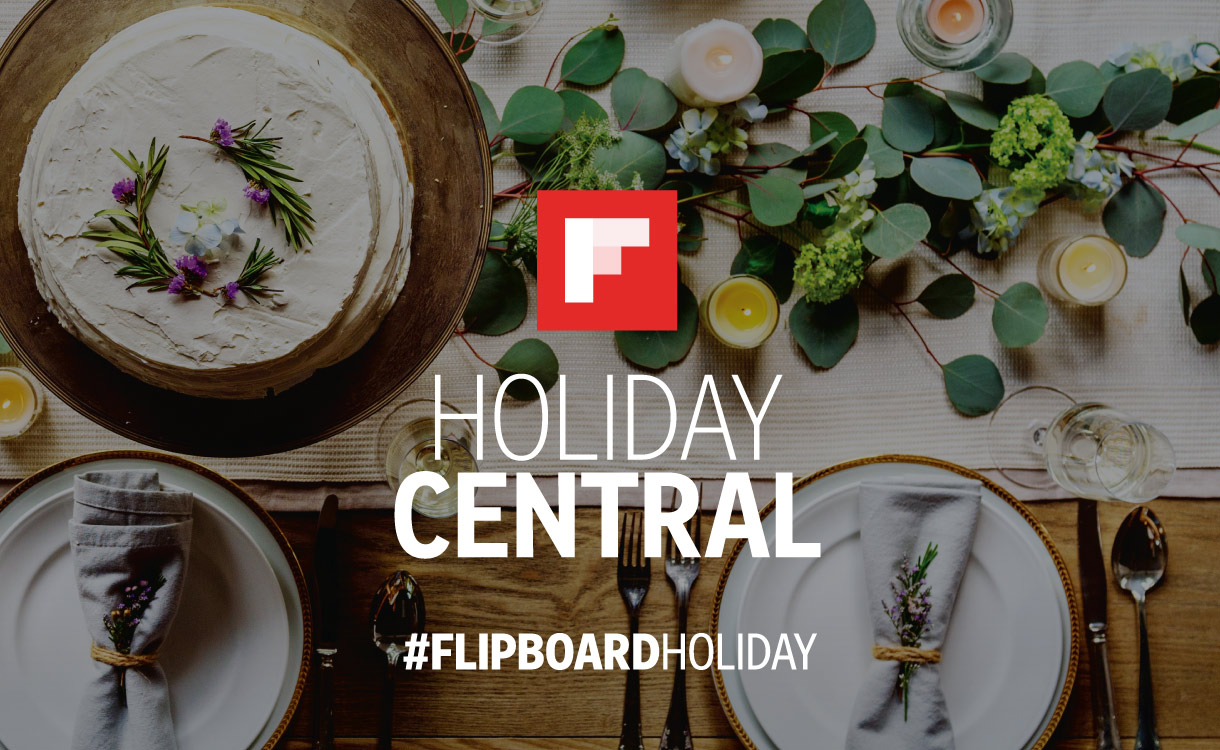 Join Flipboard on Twitter for a chat about holiday food and entertaining.