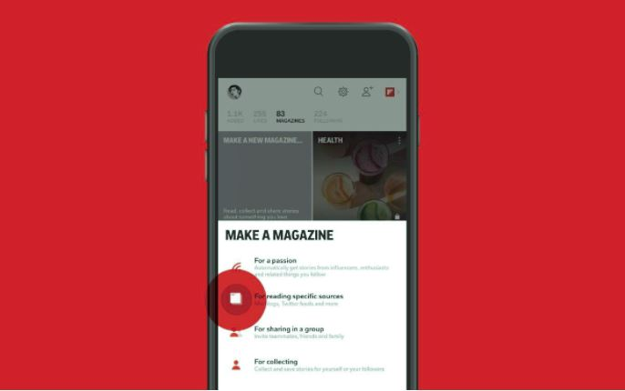 Curate and share on Flipboard