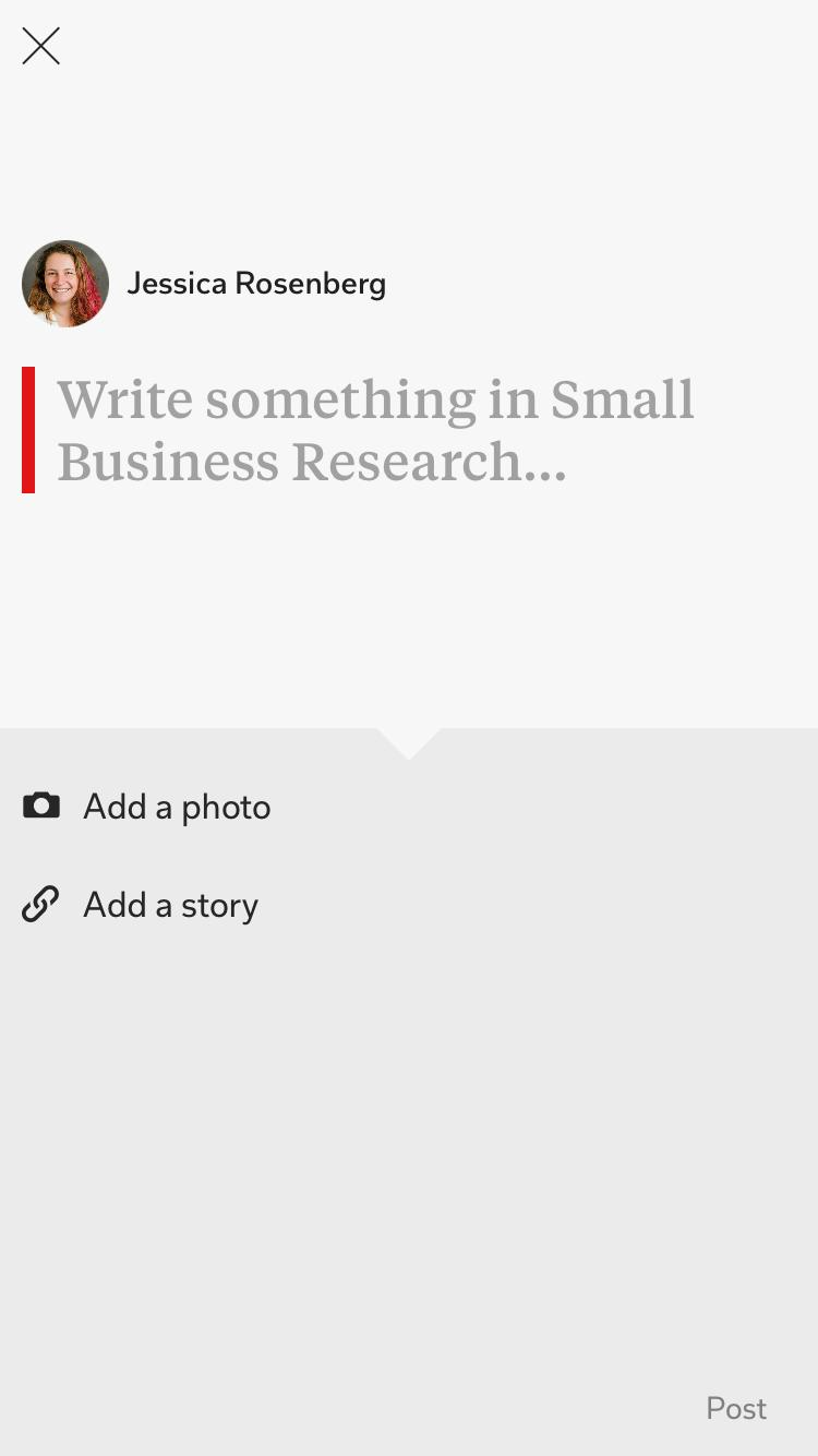 Composefeature on Flipboard