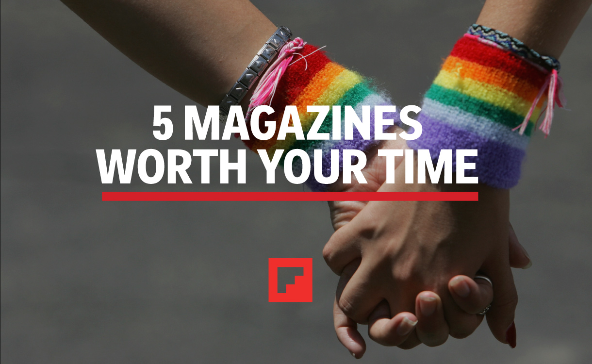Magazines Worth Your Time Pride Edition
