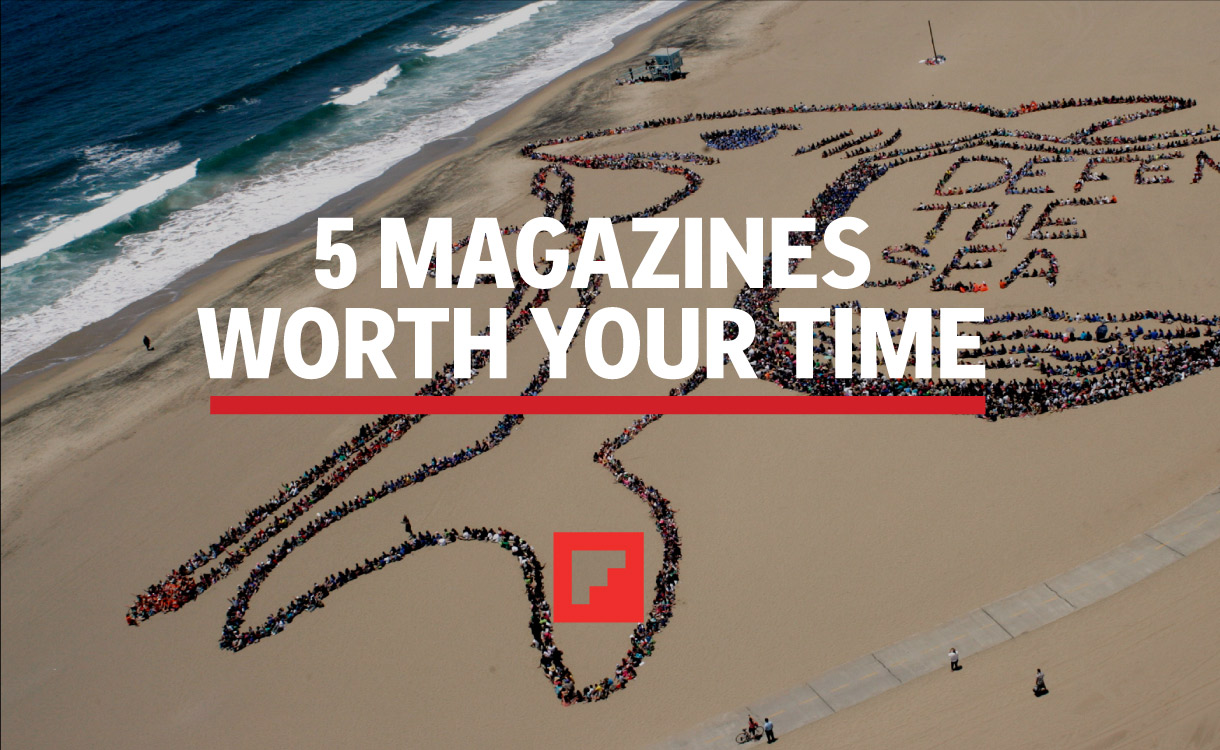 5 Flipboard Magazines Worth Your Time for World Oceans Day