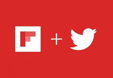 Flipbord e Twitter
