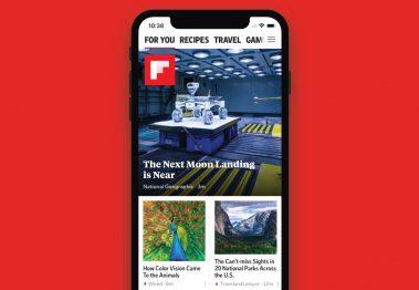 Flipboard ottimizzato per iPhone X