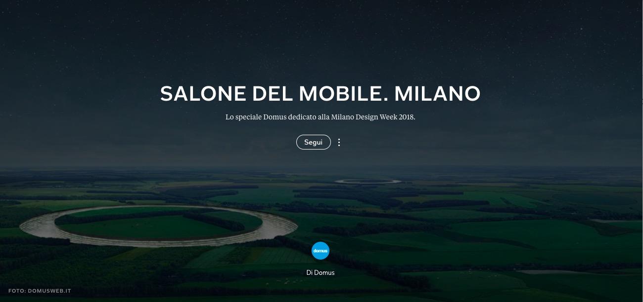 Salone del Mobile di Milano - Domus